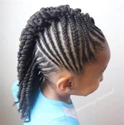 Cornrow Braids Hairstyles Kids Girls