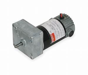 Dayton Model 1lpv8 Dc Gear Motor 6 Rpm 1  30 Hp 12vdc  1l480