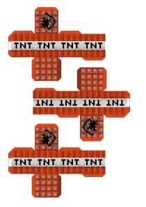 Minecraft Papercraft TNT
