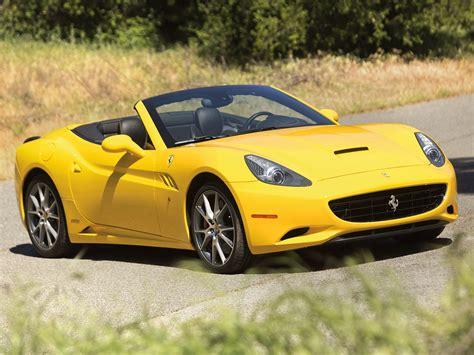 Hd Image Of Ferrari, Image Of California, Yellow
