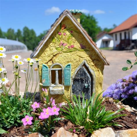 Cottage Fairy House  Fresh Garden Decor