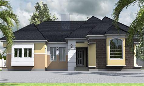 4 Bedroom House Layout Plan 4 Bedroom Bungalow In Nigeria