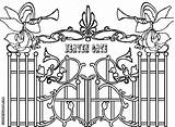 Heaven Gate Coloring Pages Gates Drawing Heavens Colorings Printable Sketch Advent Getdrawings Christian Into Heavenly Template Cursive sketch template