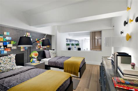 chambre enfant moderne style urbain
