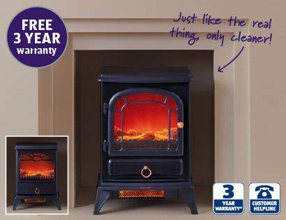 electric fireplace heater yr warranty aldi