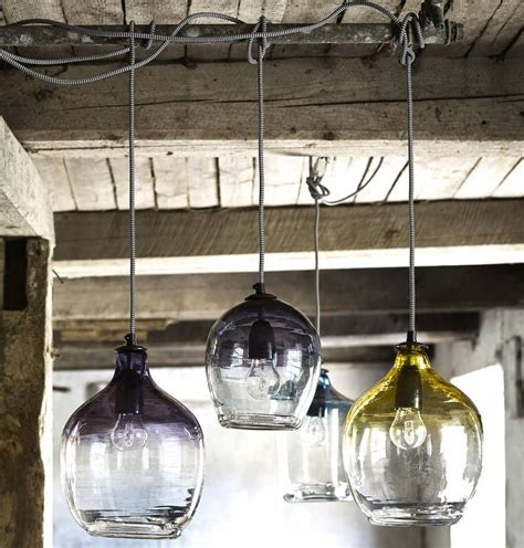 Glass Pendant Lighting by Eclectic Blown Glass Pendant Lights House