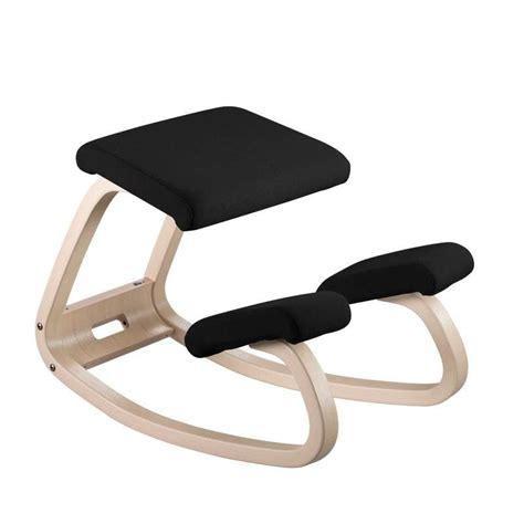 chaise de bureau bois chaise de bureau ergonomique en tissu et bois variable