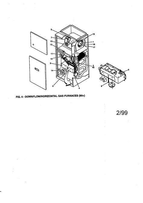 york gas furnace parts model pdhdn sears