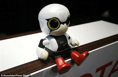 Toyota Robot by Toyota S Kirobo Mini Is Designed To Appeal To Childless