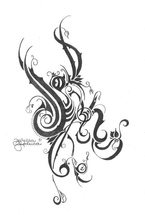 Tribal.Vines by FarFallaLoduca on DeviantArt
