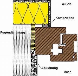 Fenster Kompriband Oder Schaum : fenster und t ren richtig einbauen ~ Eleganceandgraceweddings.com Haus und Dekorationen