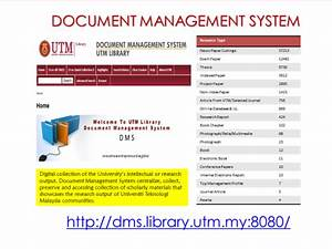 electronic resources With document control library