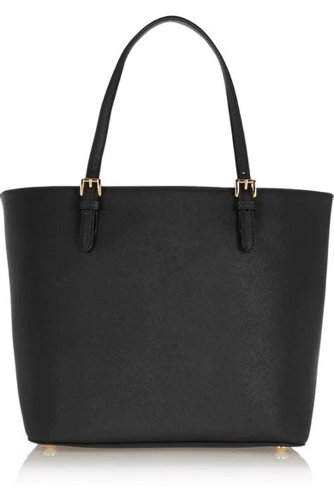 michael michael kors jet set textured leather tote net