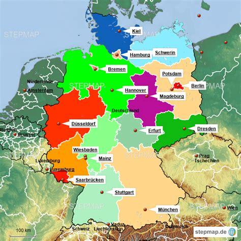 Karte österreich Bundesländer