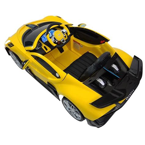 With production limited to just. Electric Bugatti Divo HL338-yellow 12 volt Ride On Car 1 ...