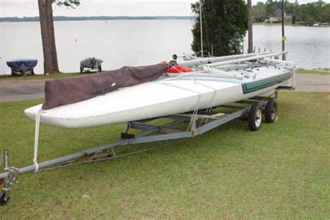 Scow Sailboat For Sale by Melges E Scow 28 Sailboat For Sale