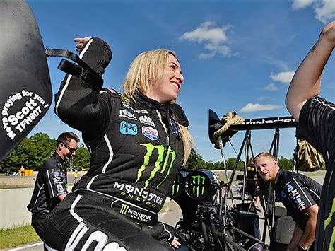 Brittany Force Gets Her Third NHRA Win By Screwing Up Less Than the Other Guy - The Drive
