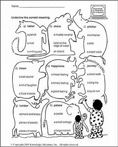 Third Grade Language Arts Worksheets