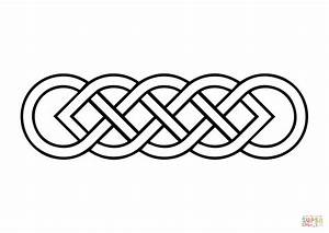 Celtic Basic Knot coloring page | Free Printable Coloring ...