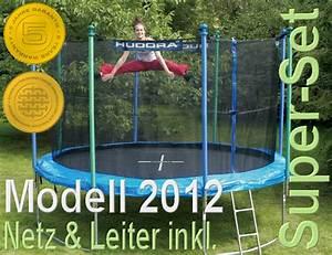 Trampolin Netz 366 : sondermodell in blau hudora trampolin 366 cm blau incl ~ Whattoseeinmadrid.com Haus und Dekorationen
