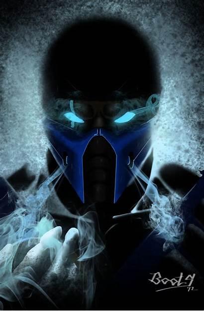 Sub Zero Kombat Mortal Subzero Fan Awesome