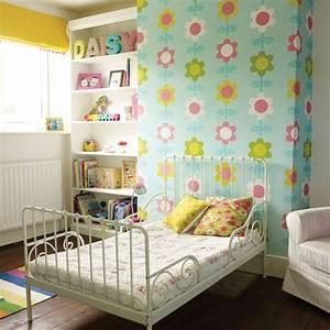 Modern floral girl's bedroom Childrens room