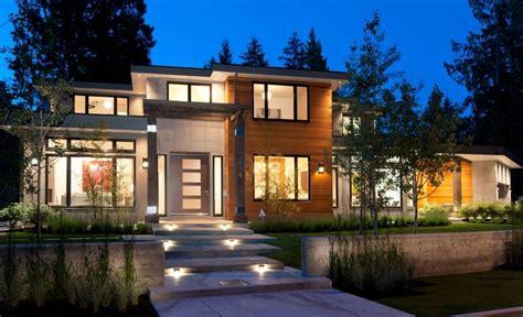 spectacular contemporary homes  vancouver canada