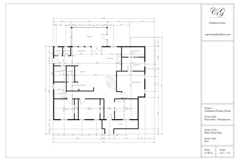 The Floor Plan Design Autocad-home Deco Plans