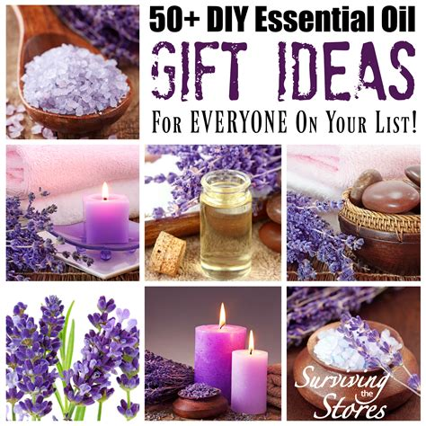 Essential Oil Diy Gift Ideas For Everyone On Your List