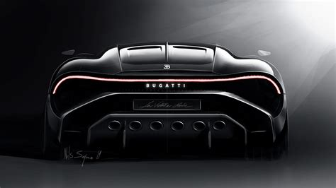 Most beautiful (and expensive) car in the world tag @lavoiturenoirebugatti to be featured! 2019 Bugatti La Voiture Noire Rear View, HD Cars, 4k Wallpapers, Images, Backgrounds, Photos and ...