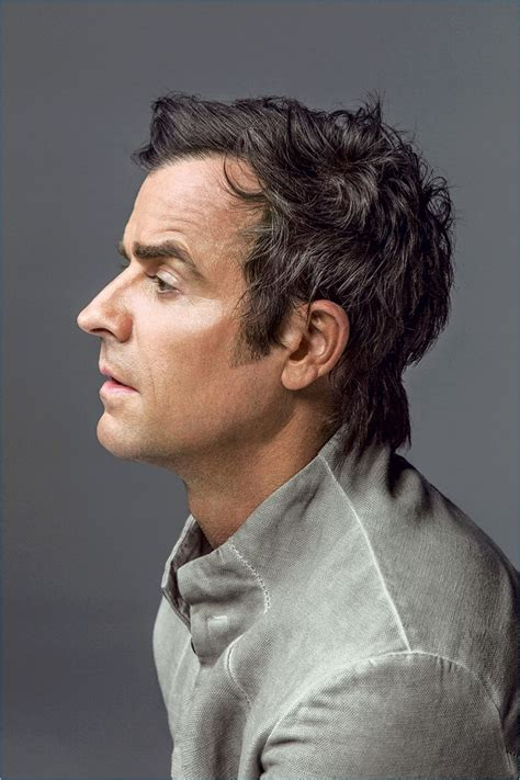 Justin Theroux Brings His Bad Boy Style to Alexa Shoot