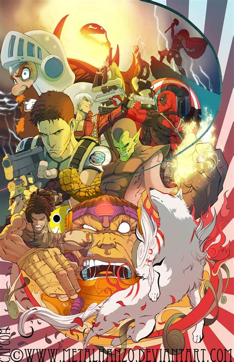 Marvel vs. Capcom 3 Europe fan art contest Germany winner