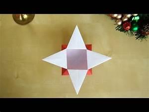 Sterne Weihnachten Basteln : origami sterne schachtel falten geschenkverpackung basteln mit papier diy weihnachten youtube ~ Eleganceandgraceweddings.com Haus und Dekorationen
