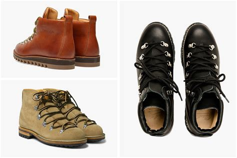 Vintage-inspired Hiking Boots For The Urban Trekker