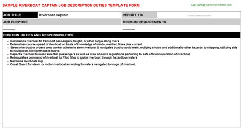 Boat Transport Captain Jobs by Architectural Job Captain Job Descriptions
