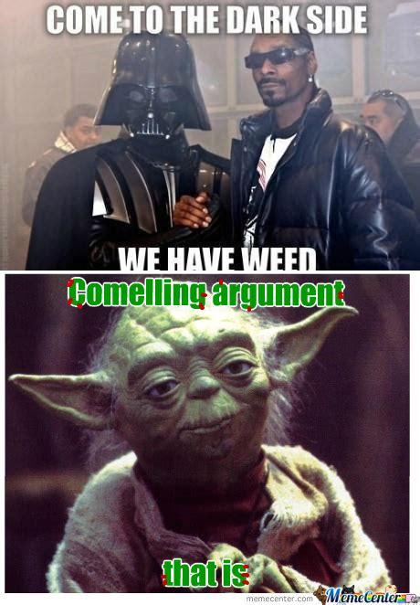 Side By Side Meme - rmx come to the dark side by rainingcrow meme center