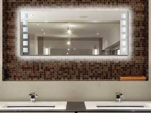 Wandspiegel Mit Licht : krollmann badspiegel beleuchtet 120 x 50 cm led badezimmer wandspiegel mit licht m bel24 ~ Orissabook.com Haus und Dekorationen