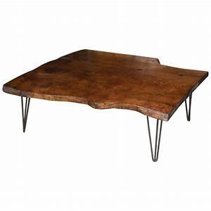 Plateau En Bois Massif : table basse en bois massif ~ Teatrodelosmanantiales.com Idées de Décoration