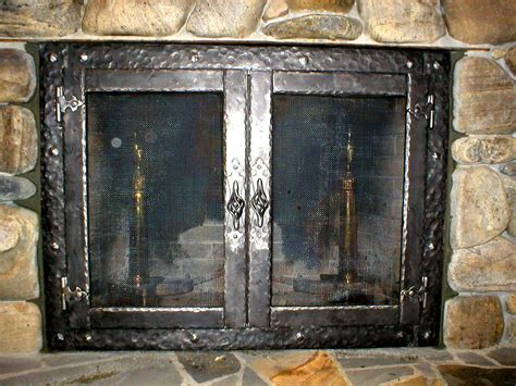 replacement fireplace doors to install wrought iron fireplace screens home ideas