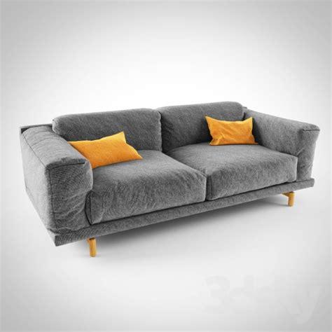 Muuto Sofa Rest 3d Models Sofa Muuto Rest Sofa
