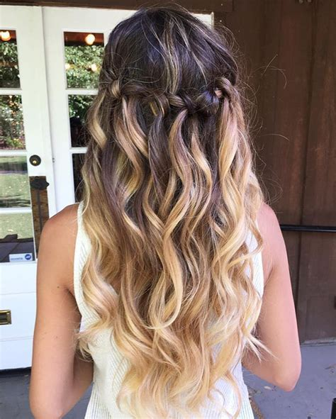 54 best 50 easy and elegant prom hairstyles images on