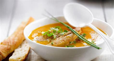 recettes de cuisine fr3 soupe de potiron aux châtaignes et au foie gras facile