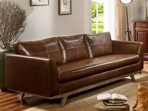 canape et fauteuil vintage en cuir vieilli chocolat alegan With vente canapé cuir en ligne