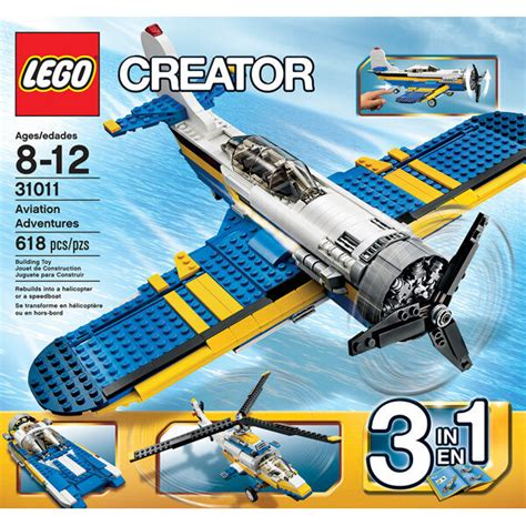 "They can be great if you can pick them up in a toy sale, or in the childrens toy section of sites like ebay. LEGO CREATOR 31011 ""3 in 1"" Aviation Adventures - 618 pc ..."