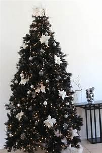Treetopia's Merry Chic-mas Classy Black Christmas Tree ...