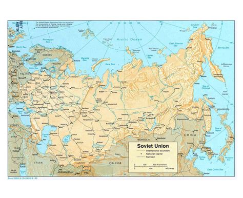 iron curtain map maps of the ussr detailed map of the