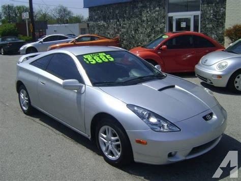 Toyota Celica Gt 2000 by 2000 Toyota Celica Gt For Sale In Louisville Kentucky