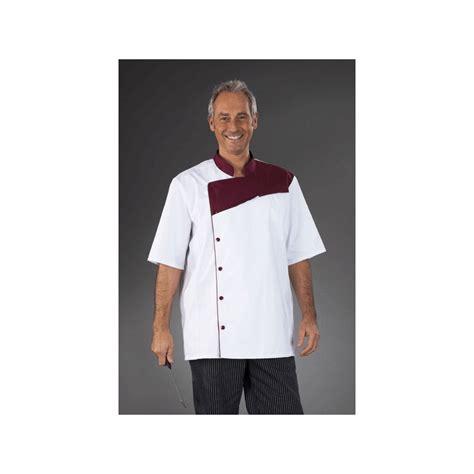 veste de cuisine professionnel homme somecal