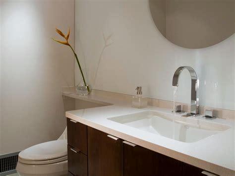 solid surface bathroom countertop options hgtv
