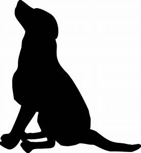 Sitting Dog Silhouette Icons PNG - Free PNG and Icons ...